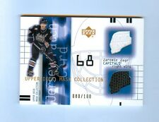 JAROMIR JAGR 01-02 UPPER DECK MASK COLLECTION JERSEY & PATCH #/100