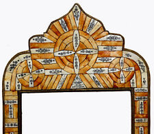 127x61 cm antik-look orient Holz  Kamelknochen Rahmen Spiegl morocco mirror farm