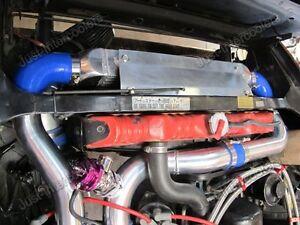CX Intercooler + Piping Kit w/BOV For 78-83 Nissan Datsun S130 280ZX L28ET Turbo