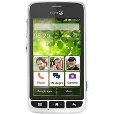 """Doro Liberto 820 Mini Android Smartphone 3g microSDHC GSM 4"""" 800 X 480 White"""