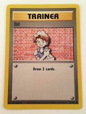 Bill - No. 91/102 Base Set Nintendo Wizards Trainer Card Vtg TCG - Pokemon 1999