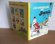 """E.O. Sophie de Jidéhem N°8 """"les bonheurs de Sophie""""dos rond Dupuis"""