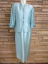 Jessica Howard Petites Sz 12P Dress & Jacket Mother of the Bride Teal