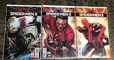 Spider-Men 2 #'s 2,3,4 (9.6-9.8) Set Of 3 Comics