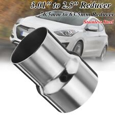 2.5'' to 3'' Stainless Steel Exhaust Reducer Pipe Adapter Connector Pipe Tube