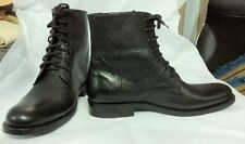 WW2 - 2017 Royal Navy ratings parade & drill deck boots bespoke custom made.