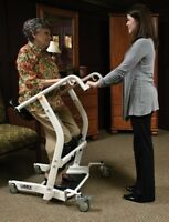 NEW LUMEX STAND ASSIST LF1600 MANUAL SIT TO STAND UP PATIENT LIFTER