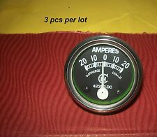 Case IH Amp Gauge Ammeter A B H M I4 I6 ID6 I9 ID 04 06 W4 W6 T4 T6 T9 3 pcs