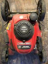 Troy Bilt Push Mower Honda High Performance Easy Start 21 inch