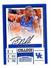 Panini Autographed Contenders Basketball Trading Cards