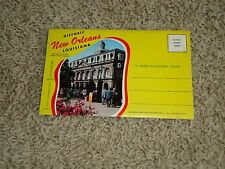 (Oo) Lot Historic New Orleans Folder Souviner Card Lot, New Orleans, Louisiana