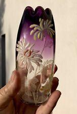 vase emaille legras. Tres Rare Mini Vase OLGA.