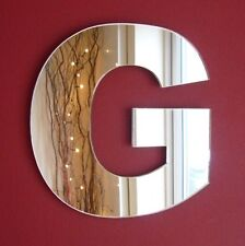 Contemporary Letter G Acrylic Mirror (Several Sizes Available)