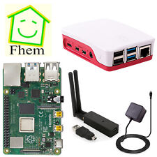 SmartHome Server 32gb Raspberry pi4 2gb con fhem/Maple cul/Starter Set
