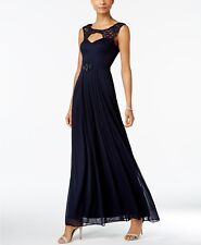 Betsy & Adam B & A by Illusion-Trim Cutout Gown MSRP $139 Size 6 # # 7А 449 Blm