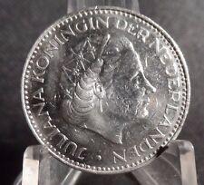 CIRCULATED 1969 1 GULDEN  NETHERLANDS COIN!!