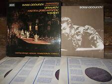 MUSSORGSKY: Boris Godunov > Vienna Karajan / Decca SET 514-7 stereo UK TAS list