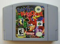 ✅ *GOOD* Banjo-Kazooie Nintendo 64 N64 Video Game Players Choice Super Rare ✅