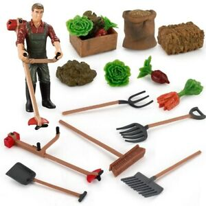 1/25 Scale Mini Farm Tool Toy Home Decoration Sence Model Play Toy