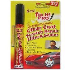 Capa Transparente arañazo reparación pluma Simoniz Fix It Pro coche arañazo reparación UV activado