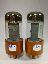 two audio 6V6GTY 6V6 GT Y JAN made in USA, for amplifier guitar, tested near NOS