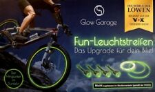 Mountainbike Bicycle Rims Reflecting Stripes Stripes Sticker Green in 5tlg Set