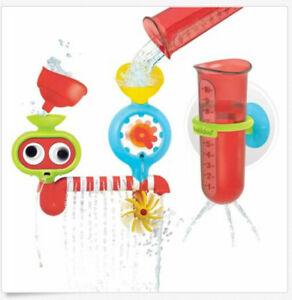 Baby Bath Toys Water Lab Multi Jet Sprinkler Spinning Propeller Googly Eyes Roll