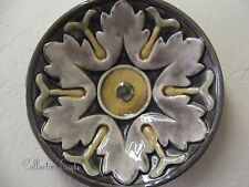 Creative Co-op Round Terracotta Wall Floral Plate Styl 11\  Hang Crackle Finish D & Ceramic Decorative Plates   eBay