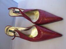 DOLCE & GABBANA sublime Escarpins Chaussures en cuir Pointure 39,5