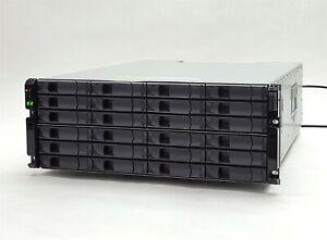 Netapp DS4243 NAJ-0801 LFF SAS 24-Bay 4U Storage Shelf Disk Array 2*IOM3 2*PSU