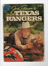 Four Color #1021 - Tales of the Texas Rangers (Aug 1959, Dell) - Good-