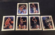1999-00 Upper Deck Legends NBA ORIGINALS Complete 6 Card Insert SET Jordan Magic