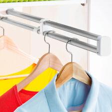 Kleiderstange ausziehbar Garderobe Kleiderschrank Garderobenleiste Hosenbügel
