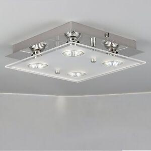 Modern 4 Way Gu10 LED Ceiling Light Fitting Ceiling Spotlight Kitchen Lights UK