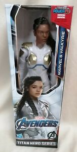"AVENGERS - *MIB* Endgame Titan Hero Series Marvel's Valkyrie 12"" Action Figure"