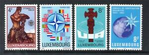 LUXEMBOURG MNH 1983 SG1104-1107 ANNIVERSARIES AND EVENTS
