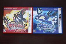 Nintendo 3DS Pokemon Omega Ruby + Alpha sapphire Japan games US Seller