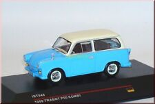 Trabant P50 Kombi estate car wagon 1959 - blau blue beige - IXO IST046 - 1:43