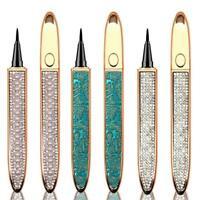 Women Self Adhesive Magic Eyeliner Pen Waterproof No Glue Makeup Needed x 1
