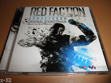 RED FACTION armageddon CD video game SOUNDTRACK score BRIAN REITZELL ost