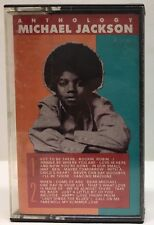"""Anthology "" Michael Jackson Cassette Tape 5402MC"