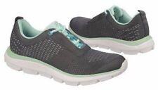 NEW - Dr. Scholl's Decible Sneaker /Walking Shoe Dark Grey MintGreen -Size 6