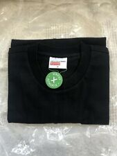 Supreme Comme des Garcons Split Box Logo Bogo Tee Black Medium