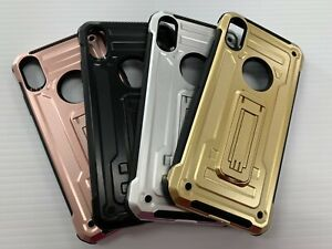 For iPhone XS Max/XS/S/XR Shockproof Kickstand TPU Case Cover