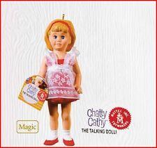 2010 Hallmark CHATTY CATHY Magic Talking Doll Ornament 11 Sayings *Priority Ship