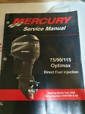 Mercury Service Manual 75/90/115 Optimax 2004 Up