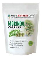 Organic Moringa Vegan Capsules 500mg (Strong & Effective, Natures Multi-Vitamin)
