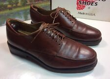CABLE & CO. Brown Leather Dress Casual Shoes Mens Size 8.5 E