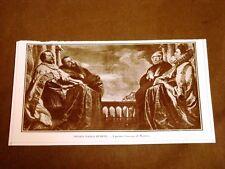 Firenze nel 1911 Mostra del ritratto italiano Rubens - I 4 Gonzaga di Mantova