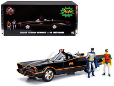 BATMAN 1966 Classic TV Batmobile Diecast 1:18 Jada 10 inch Figures and Lights
